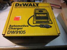 New Dewalt Dw9105 Automative Charger 9.6v to 13.2v
