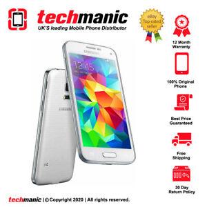 Samsung Galaxy S5 Mini SM-G800F - 16GB - White (Unlocked) Smartphone