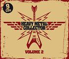 CD Heavy Metal Collector Vol.2 d'Artistes divers 9CDs