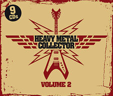 CD Heavy Metal Collector Vol.2 von Various Artists 9CDs