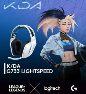 Logitech KDA G733 Wireless Headset | League Of Legends EXTREMLY LIMITED EDITION