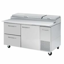 Blue Air Bapp67 D2l Hc 67 2 Drawer 1 Door Right Refrigerated Pizza Prep Table