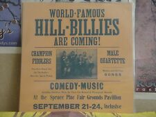 WORLD-FAMOUS HILLBILLIES ARE COMING - LP COUNTY 405