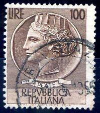 100 Lire Siracusana Ruota Dent 12 1/4 Rarita' Cert. Carraro