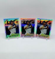Lot of 3 2014 Topps Chrome 1989 Style Ken Griffey Jr. Refractor Cards #89TC-KGJ