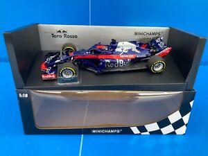 F1 Red Bull Scuderia Toro Rosso Honda STR13 B. Hartley 2018 1:18 MINICHAMPS