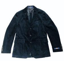 POLO RALPH LAUREN NAVY BLUE CORDUROY MORGAN HAVARD SPORT BLAZER JACKET Size 38 R