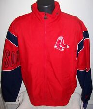 "BOSTON RED SOX Starter ""Gust"" Lightweight Nylon Jacket M,  XL, 2X RED BLUE"