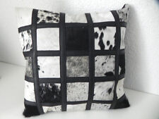 NGUNI Fur Pillow Patchwork Animal hide Sofa Africa Springbok Cushion #96.5.2