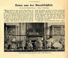 Dr.M. Wilhelm Meyer Meteoriten Boten aus der Unendlichkeit Hofmuseum in Wien1905