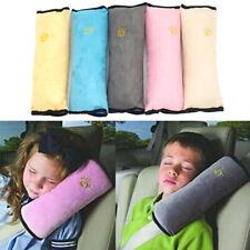 Car Seatbelt Head Pillow Safety Seat Strap Shoulder Pad Cushion Travel Sleep Kid