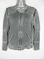 THE KOOPLES Sport Zip Through Jacket Size XS Distressed Tracksuit Top Grey
