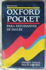 DICCIONARIO OXFORD POCKET PARA ESTUDIANTES DE INGLÉS - 1999 - 699 PÁGINAS - VER