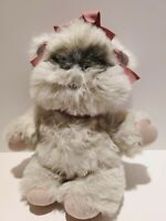 "Vintage Princess Kneessa The Ewok Stuffed Plush 1983 Star Wars Kenner 16"""