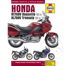 Honda NT 700 VA Deauville ABS 2006 Haynes Manual de reparación de servicio 5541