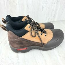 STIHL Mens Size 8.5 LawnGrips Steel Toe Shoes Sneakers Lace Up EXCELLENT