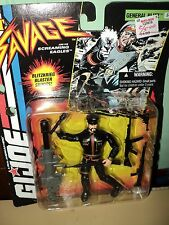 1994 GI JOE Sgt. Savage NIP - GENERAL BLITZ Action Figure