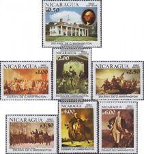 Nicaragua 2285-2291 (complète edition) neuf avec gomme originale 1982 george was