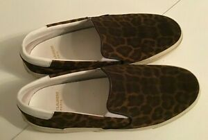 SAINT LAURENT Slip on sneakers in Leopard  Print- Size 38 -  Thames Hospice