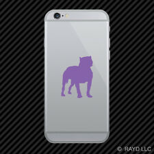 (2x) Pitbull Cell Phone Sticker Mobile Dog Canine many colors