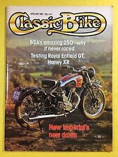 Classic Bike - Apr / Potrebbero 1980 - 750cc Harley-Davidson XR750 - 250cc Royal
