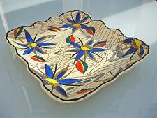 alte Servierplatte Boisfleury Longwy France emaux Emaille Keramik 50ies 60ies