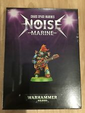 Noise Marine Chaos Space Marines Warhammer 40k New Limited Edition W80