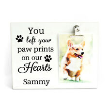 Personalized Dog Picture Frame Pet Picture Frame Love Paw Frame Dog Lover Gift