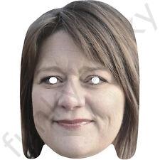 Leanne legno uomo politico celebrità maschera DI CARTA-tutte le nostre Maschere sono pre-tagliati!