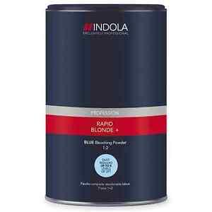 Indola Rapid Blond+ Blue Dust-Free Powder Hair Powder 450g
