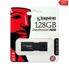 New Kingston 128GB USB 3.0 DataTraveler 100 G3 128G USB Flash Drive