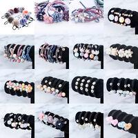Fashion Women's Flower Elastic Hair Tie Band Rope Ring Hairband Ponytail Holder