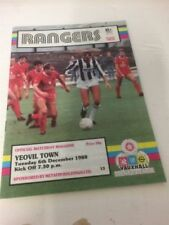 Yeovil Town Football Programme Collections/Bulk Lots