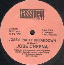 Jose Cheena - Jose's Party Breakdown - 1989 - Bassment - BM-0056 - Usa