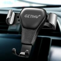 GETIHU Gravity Car Holder For Phone in Car Air Vent Clip Mount Mobile Cell Stand