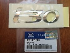 "GENUINE Hyundai i30   Emblem ""i30"" Badge made in Korea,  SYDNEY stock"