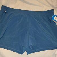 Womens Columbia Pfg Pull On Shorts Blue Size XL 3 Inch Inseam