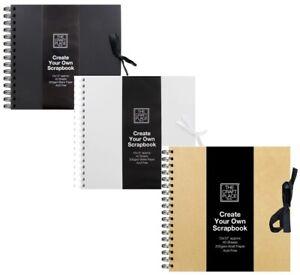 Scrapbook Kraft Square Craft Gift Idea Photos Album Create Making Best Memories