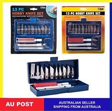 13pcs Hobby Multi function  Craft Razor Knife Blade Kit Precision Cutter DIY Set