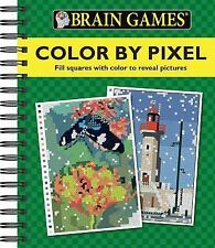 Brain Games® Color by Pixel, Editors of Publications International Ltd., Good Bo