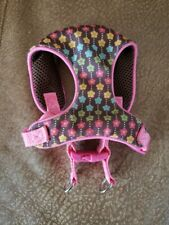 Top Paw Padded Comfort Mesh Dog Harness Hot Pink/Colorful  X-Small