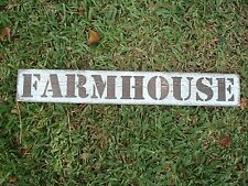 Medium Farmhouse wood sign, rustic home decor, Wooden sign collage wall.