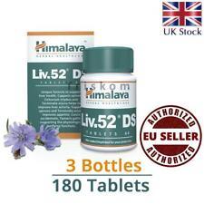 LIV 52 Liv.52 DS Double Strength (3 x 60 Tablets) Liver Detox Food supplements