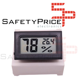 Termohigrometro termometro higrometro digital temperatura y humedad exterior