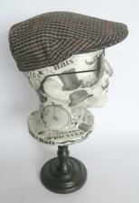 HARRISONS OF EDINBURGH FLAT CAP LAMBSWOOL TWEED CAP SIZE 7 3/8 MADE IN SCOTLAND