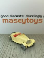 MATCHBOX LESNEY No.19a MG Midget TD. Original vintage diecast
