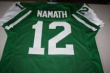 JOE NAMATH #12 QB SEWN STITCHED JERSEY SIZE XLG SUPER BOWL III BROADWAY JOE