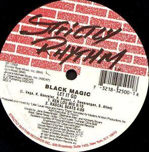 "BLACK MAGIC let it go (US Original) 12"" EX SR 12500 1997 House"