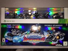 NIB XBOX 360 SKYLANDERS SUPERCHARGERS DARK EDITION STARTER PACK I SHIP EVERYDAY