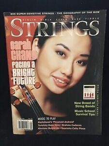 STRINGS magazine - January 2004 - SARAH CHANG violin